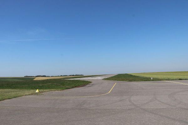 L'aérodrome de Saint-Inglevert, près de Calais, de nos jours.