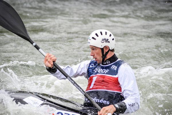 Boris Neveu avait été champion du monde de kayak en 2014.