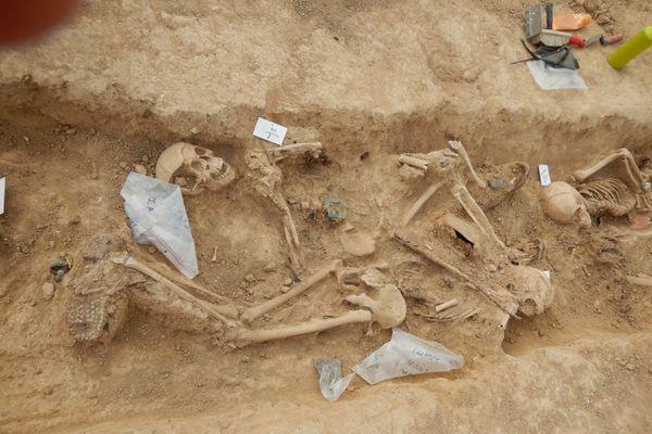 Des 14 corps exhumés, seuls 5 ont pu être identifiés