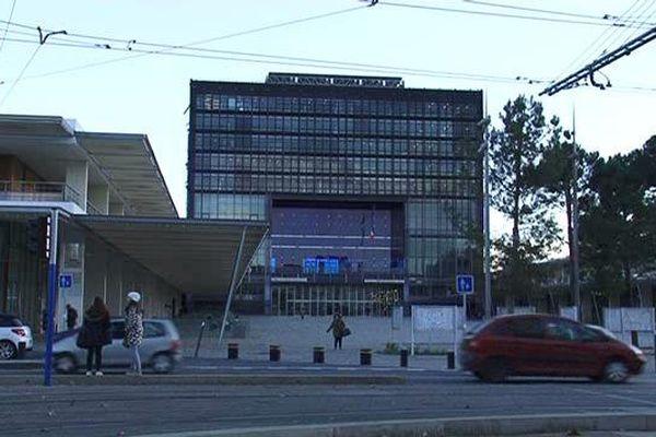L'hotel de ville de Montpellier