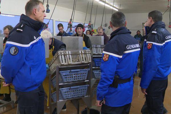 A La tremblade, les tournées de gendarmerie sont quotidiennes pendant la période des fêtes.