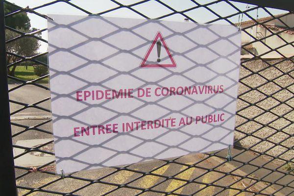 Mauguio-Carnon (Hérault) - l'Ehpad est devenu un cluster Covid - mars 2020.