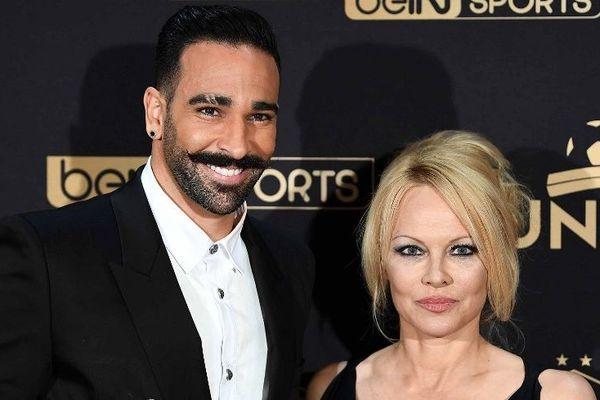 Pamela Anderson a annoncé sa séparation d'Adil Rami.
