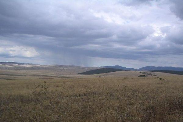 Un orage sur le Causse Méjean illustration