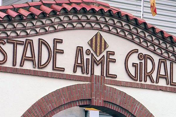 Perpignan - le stade Aimé Giral, le bastion de l'USAP - 2019.