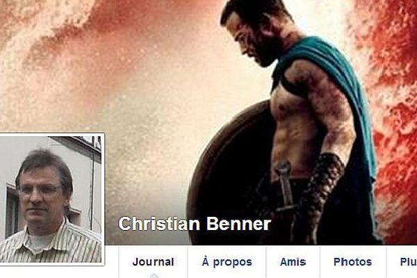 Christian Benner, candidat FN à Is-sur-Tille, dans le canton 16 de Côte-d'Or, aux élections départementales des 22 et 29 mars 2015.