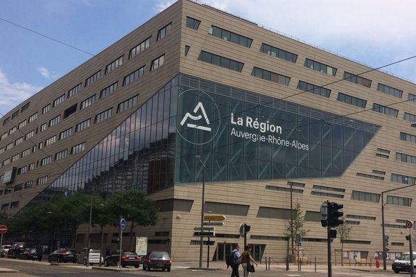 Le siège de la région Auvergne-Rhône-Alpes à Lyon