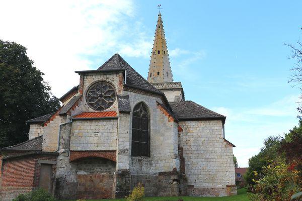 L'église Saint-Léger de Boubers-sur-Canche