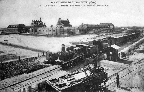 Le Sanatorium de Zuydcoote vers 1910.