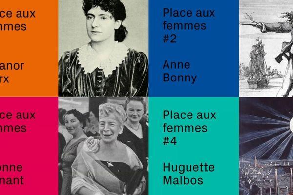 Ces quatre femmes prêteront leur nom à des ruelles et des allées dans les futurs quartiers Coop, Starlette et Citadelle à Strasbourg.