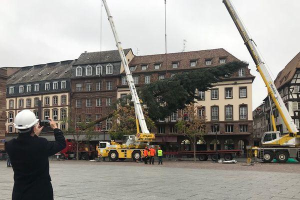 Le sapin 2018 mesure 30 mètres.