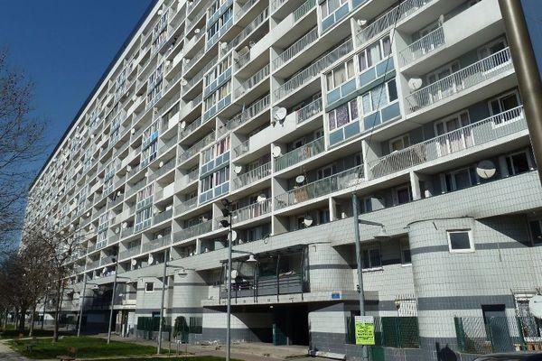La cité des 4000 à La Courneuve.