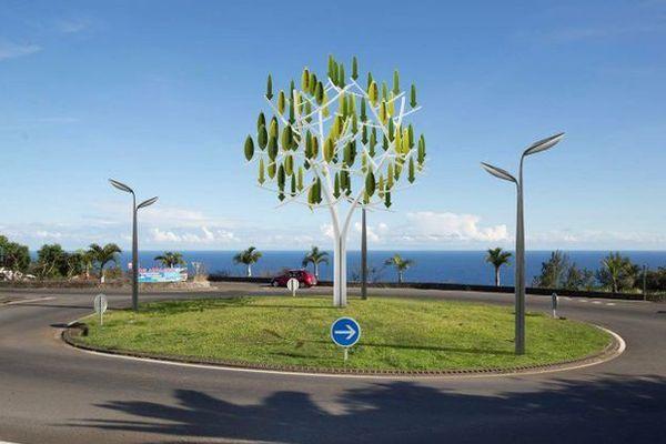 L'arbre à vent de l'entreprise bretonne, NewWind.