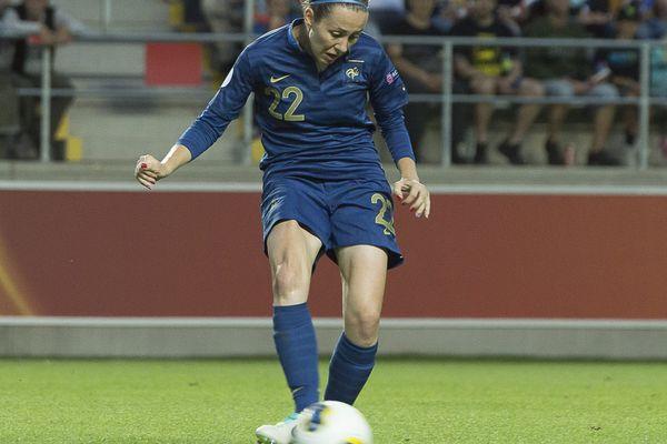 Sabrina Delannoy, une des Nordistes de l'équipe de France.
