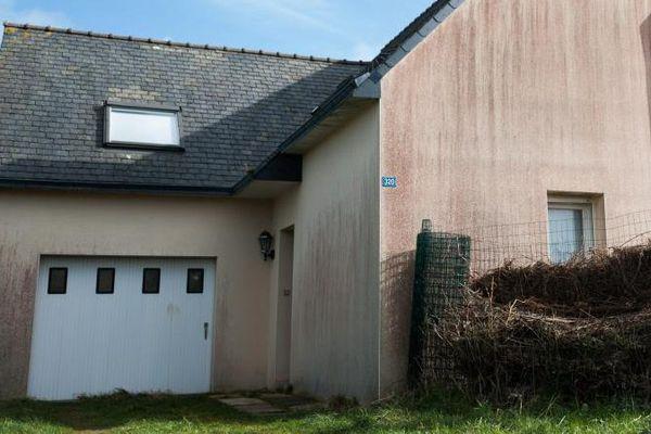 La maison d'Hubert Caouissin, le beau-frère de Pascal Troadec.