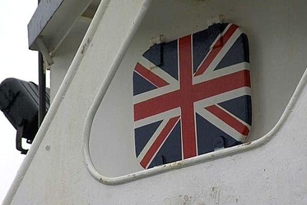 """le chalutier britannique le """"Van Dijk"""""""