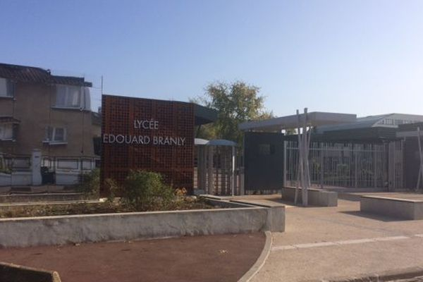Le lycée Edouard-Branly, à Créteil.