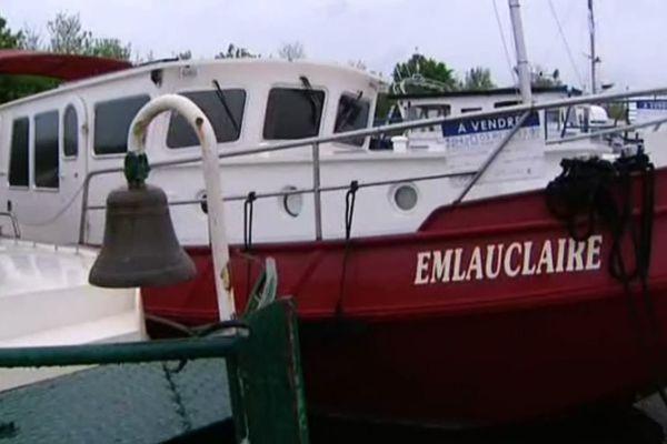 Une centaine de bateaux sont exposés à Saint-Jean-de-Losne les 25 et 26 avril