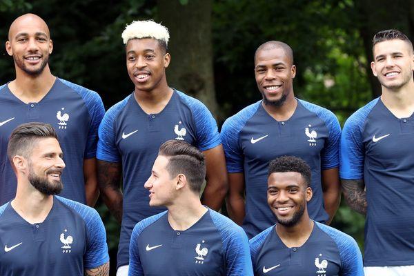 Steve Nzonzi, Presnel Kimpembé, Djibril Sidibé, Lucas Hernandez, Olivier Giroud, Florian Thauvin, Thomas Lemar confirmés chez les Bleus.