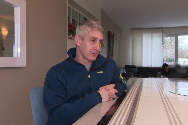 Frédéric Thouvenin est assistant familial depuis septembre 2018.