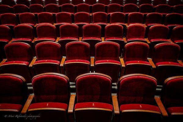 Les fauteuils de l'Opéra Grand Avignon.