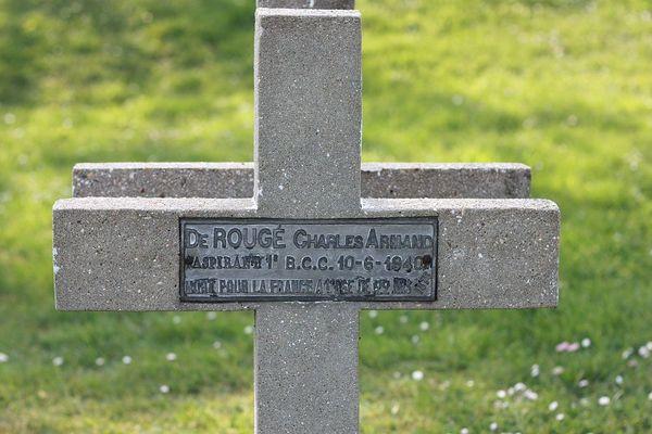 Charles-Armand de Rougé a été enterré à Château-Thierry.