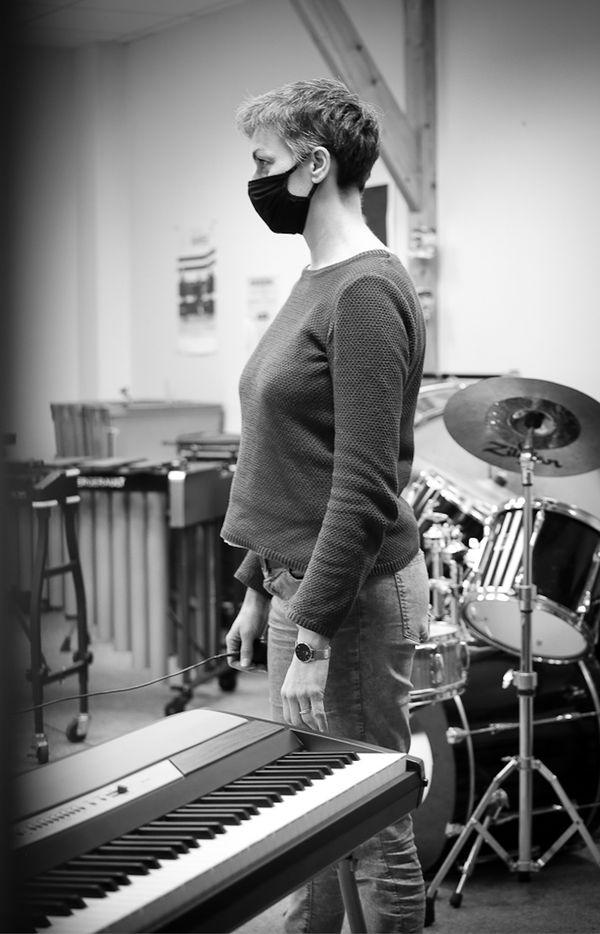 Sandrine Valet, directrice de l'école de musique