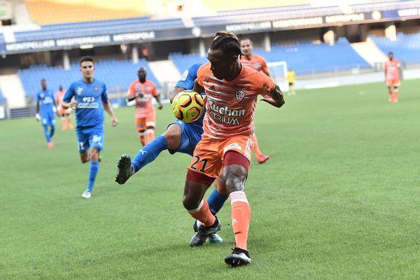 Les joueurs de l'ASB se sont inclinés face à Ajaccio ce samedi au stade de la Mosson