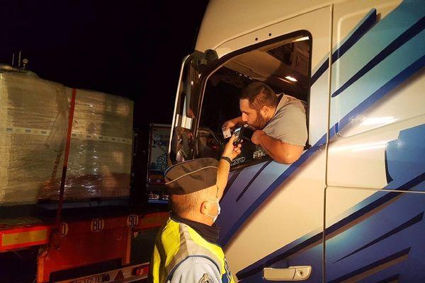 C'est la première fois en Ille-et-Vilaine qu'un contrôle de ce type a lieu de nuit