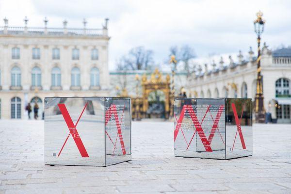 Des cubes interactifs installés dans toute l'agglomération.