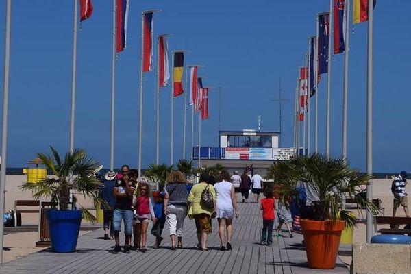 L'allée n°4 commando qui mène à la plage a été inaugurée en juin 2016