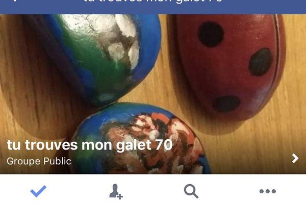 Trouve ton galet en Haute-Saône