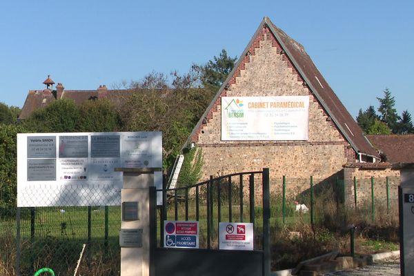 L'espace santé Bersim, à Sylvains-Lès-Moulins, au beau milieu de la campagne euroise