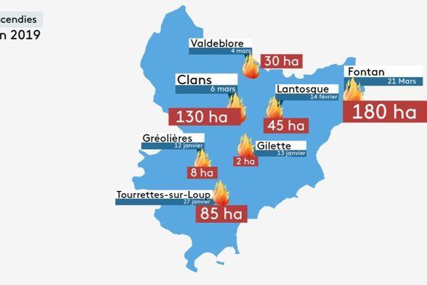 Les services de l'Etat rappellent que 90 % de ces départs de feux sont d'origine humaine.