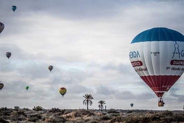 Le Tunisian Balloons Festival s'étend du nord au sud de la Tunisie du 19 au 25 mars 2018.