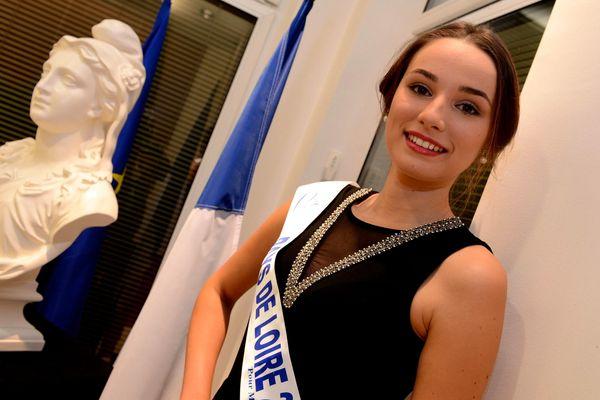 Marie Plessis est miss pays de la loire 2013