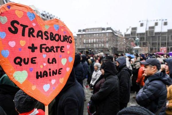 Les hommages se sont multipliés dans les semaines suivant l'attentat de Strasbourg. Celui-ci sera artistique.