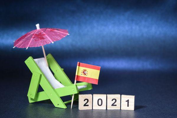 Illustration : vacances en Espagne
