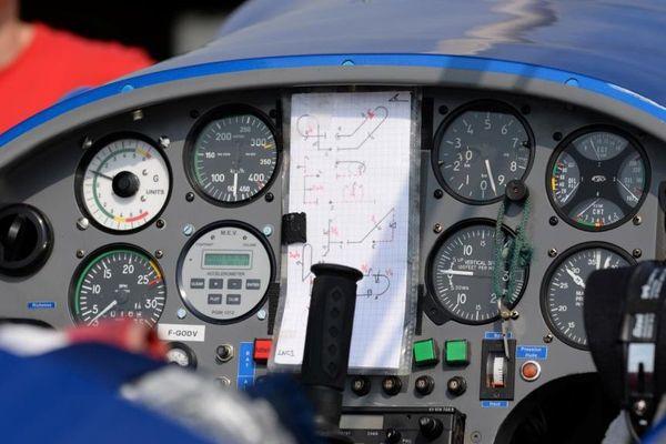 Image d'un cockpit.