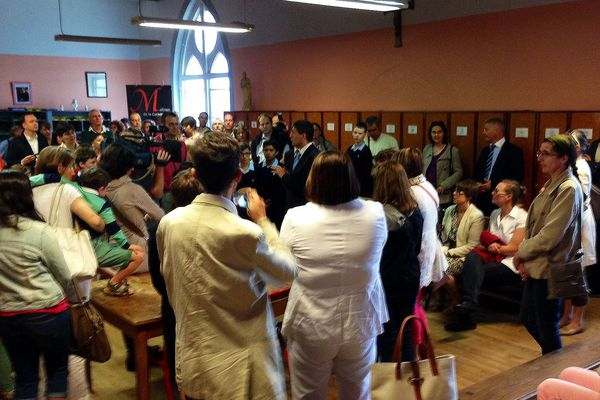 Visite-découverte pour les élèves et leurs parents de la Maîtrise de la Cathédrale d'Autun