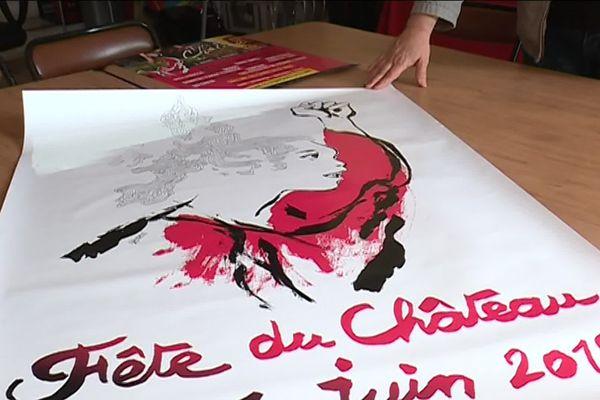 L'affiche de la 72 édition de la Fête du Château