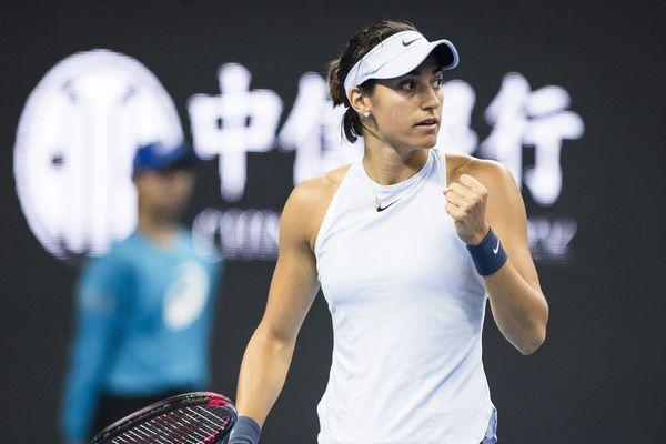 Caroline Garcia qualifiée pour la finale du tournoi de tennis de Pékin