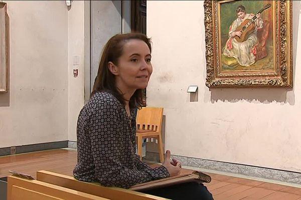 Karinka, auteur de BD, au Musée des Beaux-Arts de Lyon