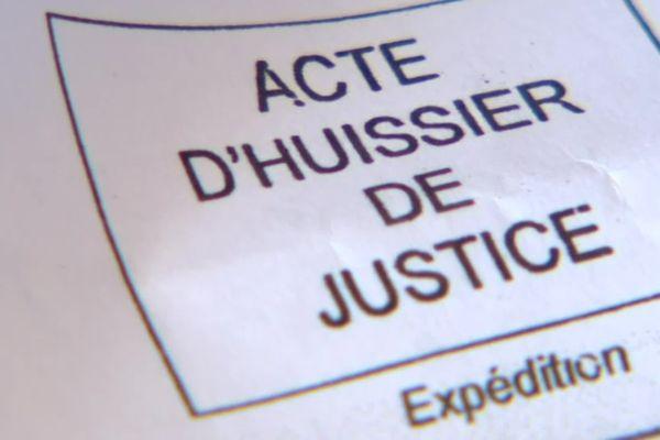 Acte d'huissier reçu par les anciens salariés de Honeywell dans l'Oise