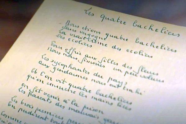 Une vente rare de manuscrits de chansons, poèmes, lettres et textes de Georges Brassens a eu lieu à Paris ce 22 septembre 2020. Les enchères ont été un succès.