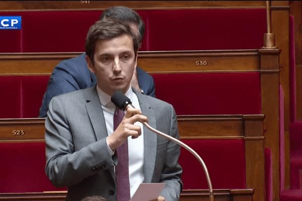 Le député Aurélien Taché, à l'Assemblée nationale