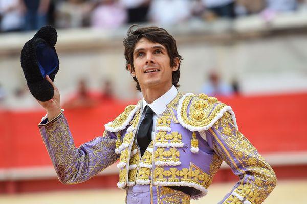 Le matador biterrois Sébastien Castella , en juin 2019 pendant la féria de Pentecôte à Nîmes.