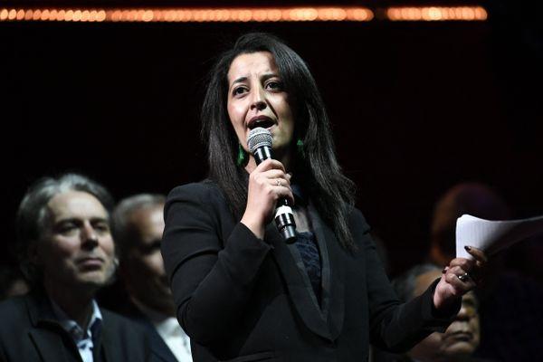 Karima Delli, députée européenne EELV, est la tête de liste de la gauche rassemblée pour les élections régionales de juin prochain dans les Hauts-de-France.