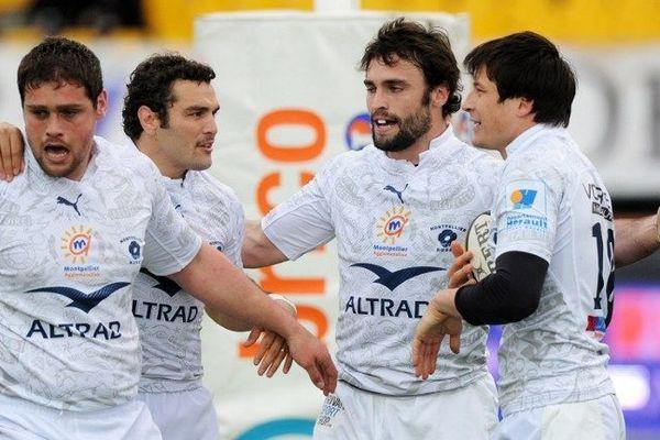 L'équipe de Montpellier le 30 mars dernier