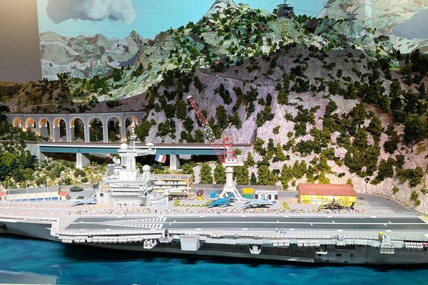 La journée portes ouvertes du Porte-Avion Charles de Gaulle de Mini World Côte d'Azur